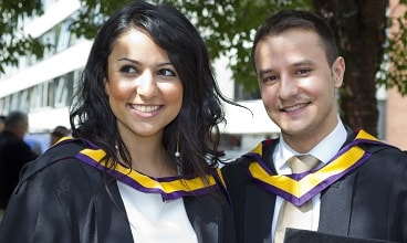 Alumni students at the University of Manchester